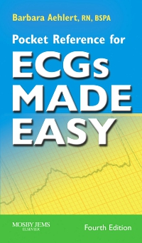 cover image - Pocket Reference for ECGs Made Easy - Elsevier eBook on VitalSource,4th Edition