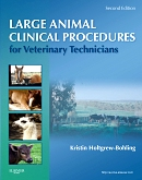 cover image - Evolve Resources for Large Animal Clinical Procedures for Veterinary Technicians,2nd Edition