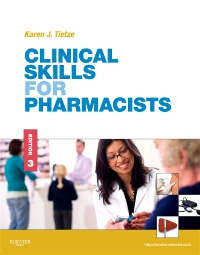 cover image - Clinical Skills for Pharmacists,3rd Edition