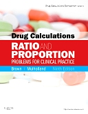 cover image - Evolve Resources for Drug Calculations,9th Edition