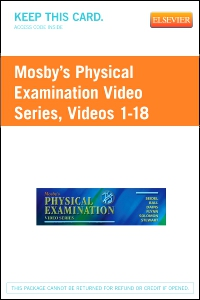 cover image - Mosby's Physical Examination Video Series (Access Code)