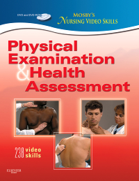 cover image - Mosby's Nursing Video Skills: Physical Examination and Health Assessment,2nd Edition