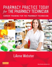 cover image - Pharmacy Practice Today for the Pharmacy Technician