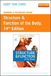 cover image - Anatomy and Physiology Online for Structure & Function of the Body,14th Edition