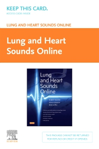 cover image - Lung and Heart Sounds Online (Access Code)