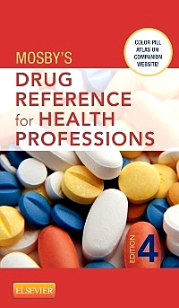 cover image - Mosby's Drug Reference for Health Professions - Elsevier eBook on VitalSource,4th Edition