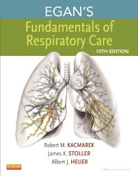 cover image - Egan's Fundamentals of Respiratory Care - Elsevier eBook on VitalSource,10th Edition