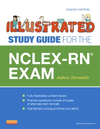 cover image - Illustrated Study Guide for the NCLEX-RN Exam - Elsevier eBook on VitalSource,8th Edition