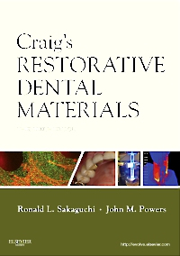 cover image - Craig's Restorative Dental Materials - Elsevier eBook on VitalSource,13th Edition