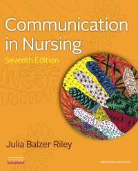 cover image - Communication in Nursing - Elsevier eBook on VitalSource,7th Edition