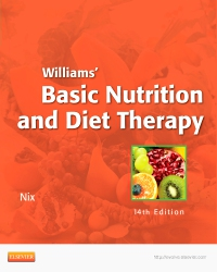 cover image - Williams' Basic Nutrition & Diet Therapy - Elsevier eBook on VitalSource,14th Edition