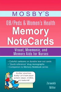 cover image - Mosby's OB/Peds & Women's Health Memory NoteCards
