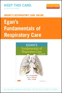 cover image - Mosby's Respiratory Care Online for Egan's Fundamentals of Respiratory Care,2nd Edition