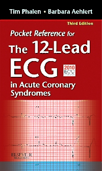 cover image - Pocket Reference for the 12-Lead ECG in Acute Coronary Syndromes - Elsevier eBook on VitalSource,3rd Edition