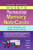 cover image - Evolve Resources for Mosby's Pharmacology Memory Notecards,3rd Edition