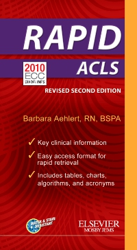 cover image - RAPID ACLS (Revised Reprint) - Elsevier eBook on VitalSource,2nd Edition