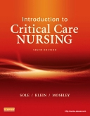 cover image - Evolve Resources for Introduction to Critical Care Nursing,6th Edition