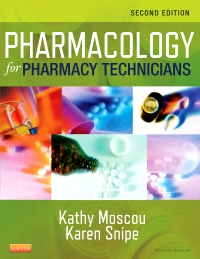 cover image - Pharmacology for Pharmacy Technicians Elsevier eBook on VitalSource,2nd Edition