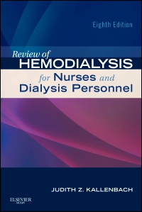 cover image - Review of Hemodialysis for Nurses and Dialysis Personnel- Elsevier eBook on VitalSource,8th Edition