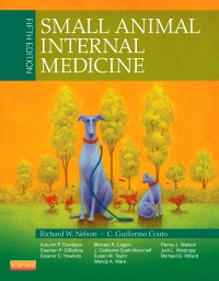 cover image - Small Animal Internal Medicine,5th Edition