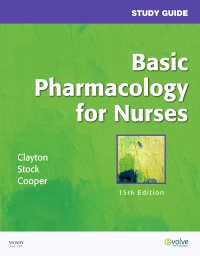 cover image - Study Guide for Basic Pharmacology for Nurses - Elsevier eBook on VitalSource.,15th Edition