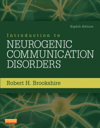 cover image - Introduction to Neurogenic Communication Disorders - Elsevier eBook on VitalSource,8th Edition