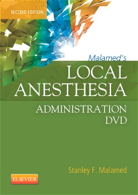 cover image - Malamed's Local Anesthesia Administration DVD,2nd Edition
