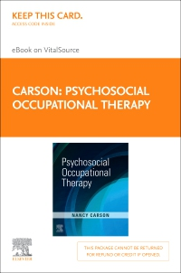 cover image - Psychosocial Occupational Therapy - Elsevier eBook on VitalSource (Retail Access Card)