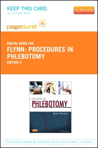 cover image - Procedures in Phlebotomy - Elsevier eBook on VitalSource (Retail Access Card),4th Edition