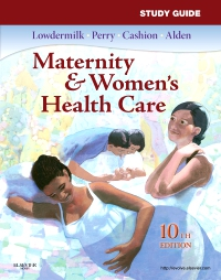 cover image - Study Guide for Maternity & Women's Health Care - Elsevier eBook on VitalSource,10th Edition