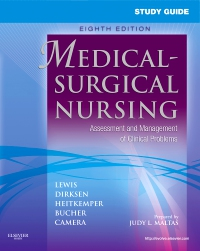 cover image - Study Guide for Medical-Surgical Nursing - Elsevier eBook on VitalSource,8th Edition