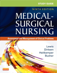 cover image - Study Guide for Medical-Surgical Nursing - Elsevier eBook on VitalSource,9th Edition