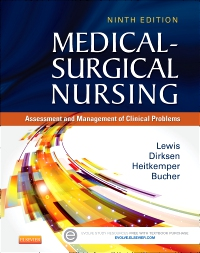 cover image - Medical-Surgical Nursing - Elsevier eBook on VitalSource,9th Edition