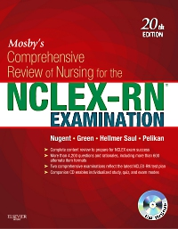 cover image - Mosby's Comprehensive Review of Nursing for NCLEX-RN® Examination - eBook,20th Edition