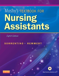 cover image - Mosby's Textbook for Nursing Assistants - Elsevier eBook on VitalSource,8th Edition