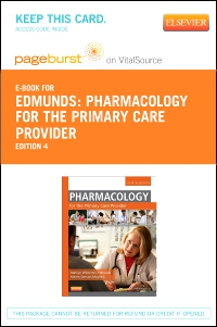 cover image - Pharmacology for the Primary Care Provider - Elsevier eBook on VitalSource (Retail Access Card),4th Edition
