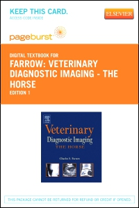 cover image - Veterinary Diagnostic Imaging - The Horse - Elsevier eBook on VitalSource (Retail Access Card)
