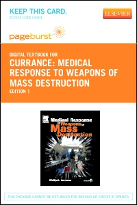 cover image - Medical Response to Weapons of Mass Destruction - Elsevier eBook on VitalSource (Retail Access Card)