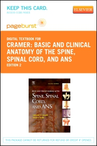cover image - Basic and Clinical Anatomy of the Spine, Spinal Cord, and ANS - Elsevier eBook on VitalSource (Retail Access Card),2nd Edition