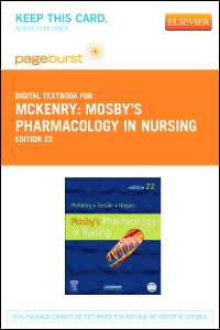 cover image - Mosby's Pharmacology in Nursing - Elsevier eBook on VitalSource (Retail Access Card),22nd Edition