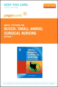 cover image - Small Animal Surgical Nursing - Elsevier Digital Book (Retail Access Card)
