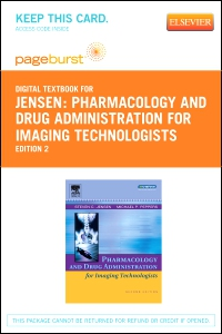 cover image - Pharmacology and Drug Administration for Imaging Technologists - Elsevier Digital Book (Retail Access Card),2nd Edition