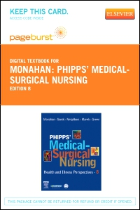cover image - Phipps' Medical-Surgical Nursing - Elsevier eBook on VitalSource (Retail Access Card),8th Edition