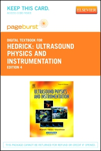 cover image - Ultrasound Physics and Instrumentation - Elsevier eBook on VitalSource (Retail Access Card),4th Edition