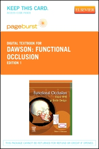 cover image - Functional Occlusion - Elsevier eBook on VitalSource (Retail Access Card)