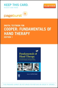 cover image - Fundamentals of Hand Therapy - Elsevier eBook on VitalSource (Retail Access Card)