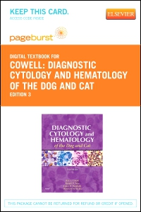 cover image - Diagnostic Cytology and Hematology of the Dog and Cat - Elsevier eBook on VitalSource (Retail Access Card),3rd Edition