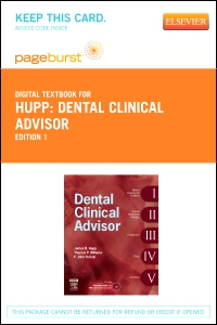 cover image - Dental Clinical Advisor - Elsevier eBook on VitalSource (Retail Access Card)