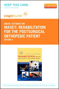 cover image - Rehabilitation for the Postsurgical Orthopedic Patient - Elsevier eBook on VitalSource (Retail Access Card),2nd Edition