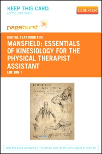 cover image - Essentials of Kinesiology for the Physical Therapist Assistant - Elsevier eBook on VitalSource (Retail Access Card)